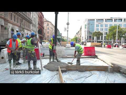 STRABAG Budapest- Blaha Lujza tér felújítása