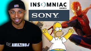 Sony BUYS Insomniac Games : Spider-Man PS4 Sequel