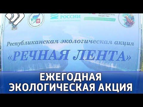 30 мешков мусора собрали участники акции «Речная лента» в Выльгорте