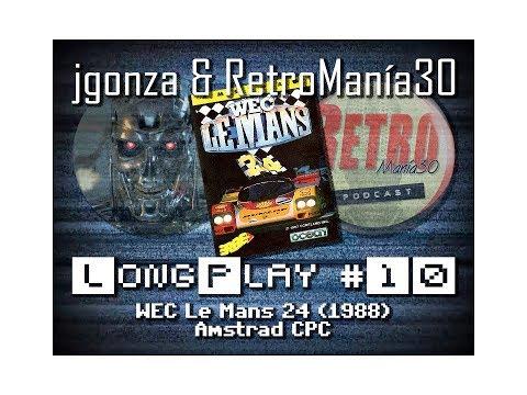 Wec Le Mans - Amstrad CPC Longplay