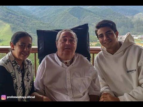Profesor Luis Fernando Montoya está hospitalizado por dificultades respiratorias