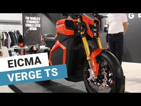 EICMA 2019 - moto électrique Verge TS