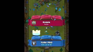 Playing Clash Royale baby dragon tournament