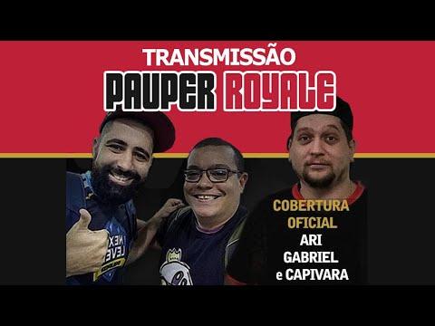 Narração ao vivo Pauper Royale - 30/07/2020