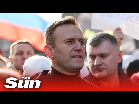 Live: Chaos at Russia Airport As Alexei Navalny Arrives In Moscow