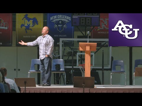 ACU Chapel with Britt Bonneau; March 28, 2016