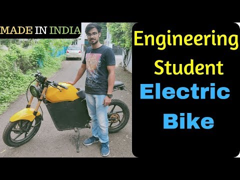 BTech Student Made Electric Motorcycle in India | Inspiring EV Startup