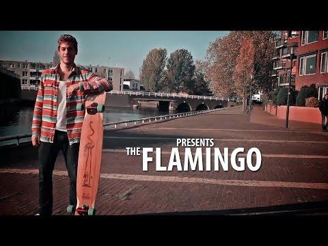 Video TIMBER Planche Longboard ONDJONGO FLAMINGO