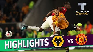 Wolverhampton vs. Manchester United: 1-1 Goals & Highlights | Premier League | Telemundo Deportes