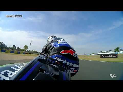 Monster Energy Yamaha OnBoard: SHARK Helmets Grand Prix de France