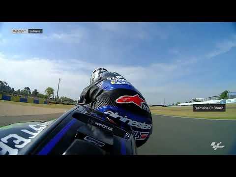 Monster Energy Yamaha OnBoard: SHARK Helmets Grand Prix de France