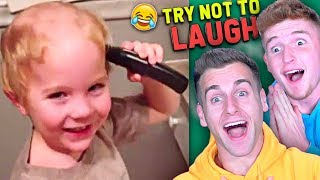 Try Not To LAUGH Challenge Ft. Infinite Lists