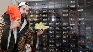 my ENTIRE HypeBeast Sneaker Collection!! (BEST ON YOUTUBE?)
