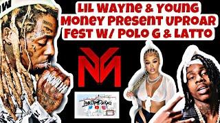 "LivesFrmDaRaq Presents: LiL Wayne & Young Money ""Uproar Fest"" Polo G + Latto & More Live in LA 🔥"