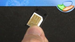 Como transformar um chip SIM em microSIM e nanoSIM [Dicas] - Tecmundo