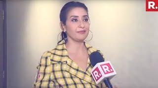 Manisha Koirala On Playing Nargis Dutt In Sanju- Interview..