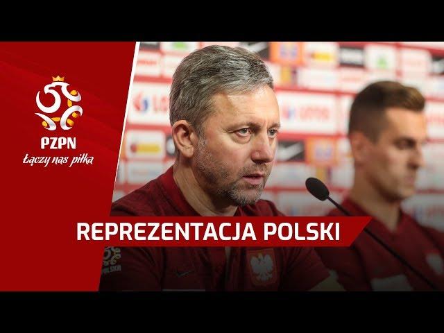 Brzęczek, Milik | Konferencja prasowa | Braga, Portugalia