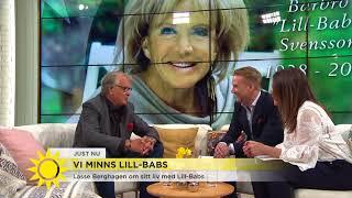 Här läser Lasse Berghagen kärleksdikten till Lill-Babs – rör Tilde till tårar - Nyhetsmorgon (TV4)