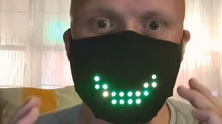 LED Mask Voice Activated