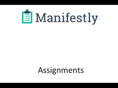 Step Assignments in Manifestly