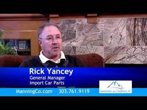 Manning & Company - Rick Yancey Testimony