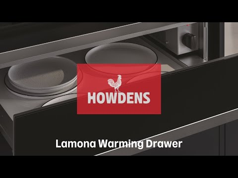 Lamona Warming Drawer - appliances exclusive to Howdens Joinery