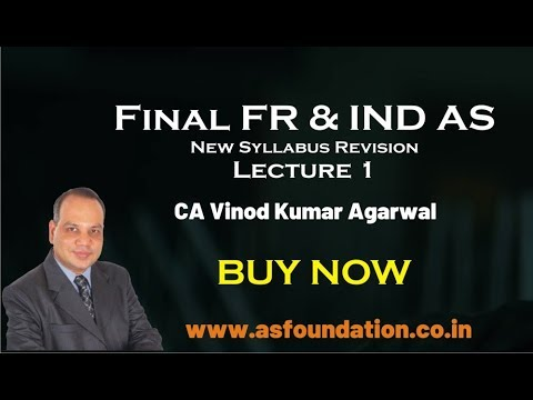 video CA Final IND AS Revision By CA Vinod Kumar Agarwal