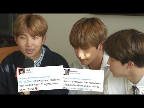 BTS Answers Fan Questions & Gives Tips On How To Learn Korean