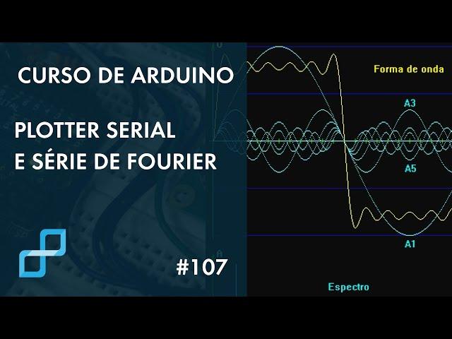 PLOTTER SERIAL E SÉRIE DE FOURIER | Curso de Arduino #107