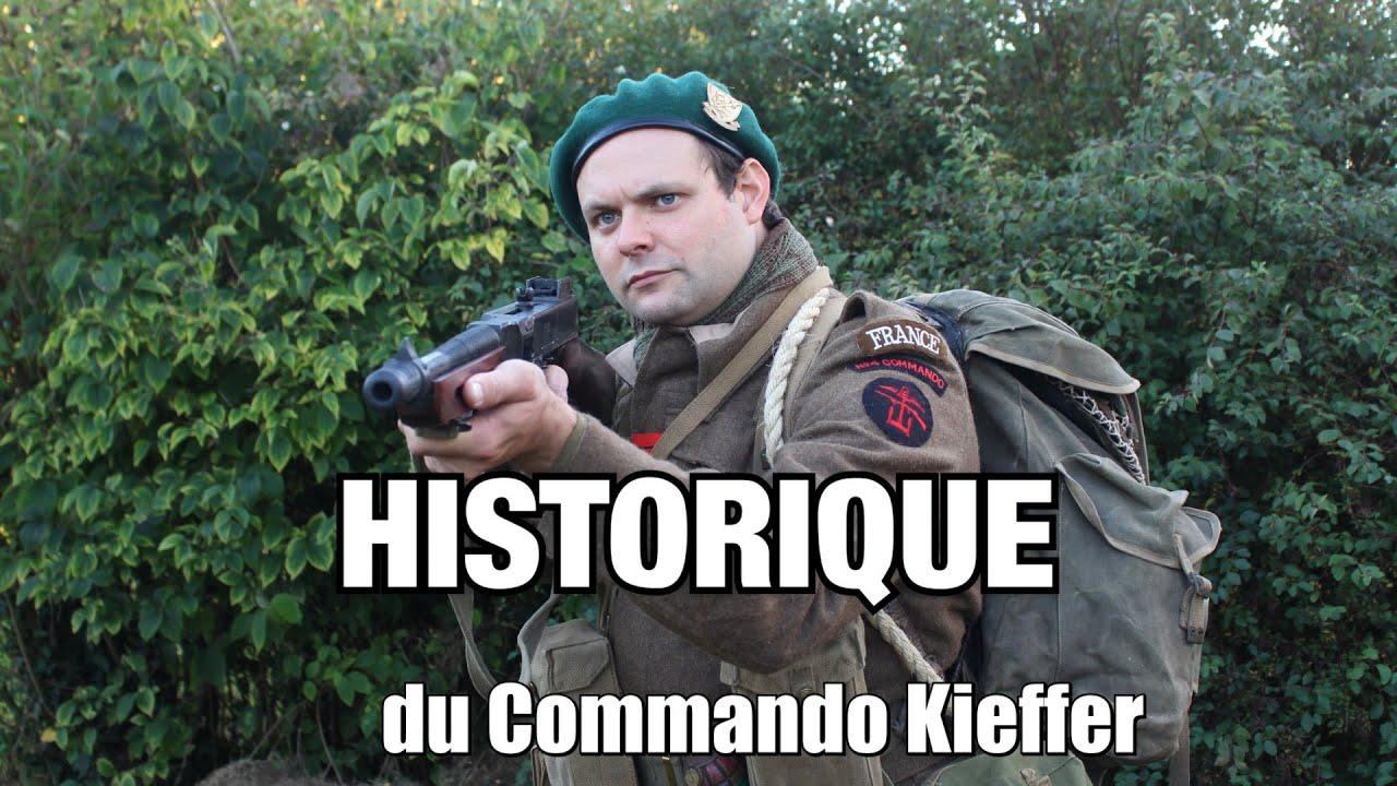 Historique du 1er BFMC du Commando Kieffer