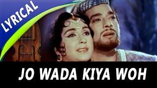 Jo Wada Kiya Woh Nibhana Padega Full Song With Lyrics   Mohammed Rafi, Lata Mangeshkar   Taj Mahal