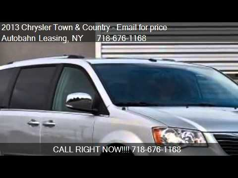2013 Chrysler Town and Country Touring / Touring L / Limited