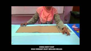Cara Membuat Pola Kain Lipat Batik : Teknik Cepat & Mudah - FASTEST ...