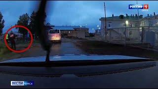 В Омске экипажу ДПС пришлось применить табельное оружие