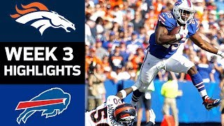 Broncos vs. Bills | NFL Week 3 Game Highlights