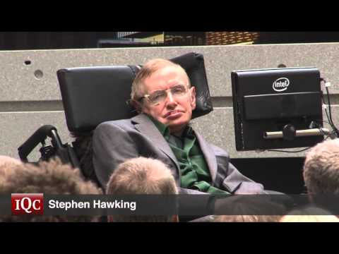 Video: Stephen Hawking helps launch the Quantum-Nano Centre at the University of Waterloo