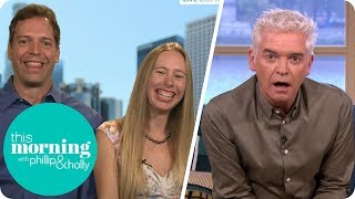 Phillip Is Fascinated by Couple Who Can Orgasm for 18 Hours Just by Hugging! | This Morning