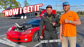 Diesel Brothers Learn About Spark Plugs and Drive the Fastest Vehicle They've Ever Driven!!!