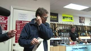 Perry hits his mark at gun range