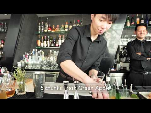 Best Bartender cocktail at Isobar by J Tang