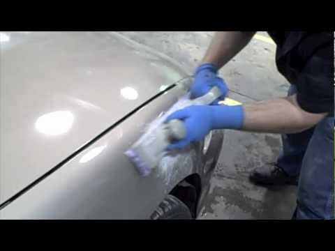 DIY- (How To Fix Dents In Your Car), Spread Body Filler, and Block Sand