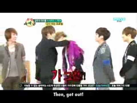 [Eng] 120509 SHINee ranking their own selves @ weekly idol