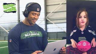Russell Wilson Reacts to Messages From Seahawks Fans