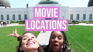 We Visited the Coolest Movie Locations in LA!