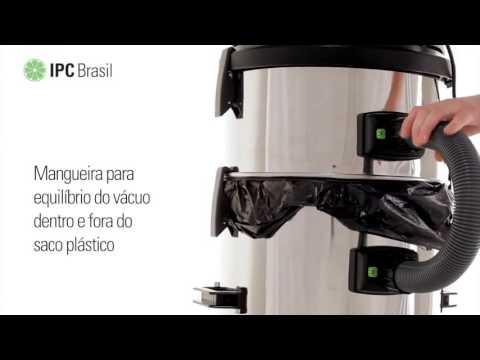 Aspirador de Pó e Líquidos 62L 1200W A162 Ipc Soteco - 127 Volts - Vídeo explicativo