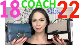 COACH RILEY TOP HANDLE 18 & COACH  RILEY TOP HANDLE 22 | WHICH ONE TO CHOOSE?
