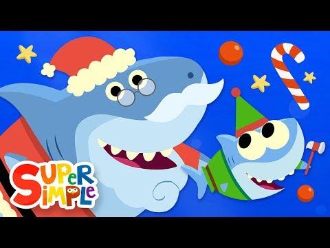 Santa Shark   Baby Shark Christmas Song   Super Simple Songs