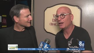 8 News Now talks with Howie Mandel before he appears on 'Live with Kelly and Ryan'