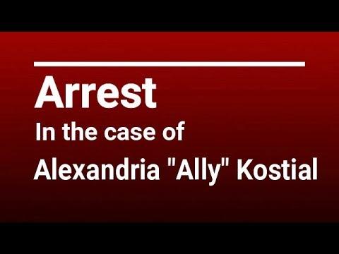 "Brandon Theesfeld Arrested in the Murder of Alexandria ""Ally"" Kostial"
