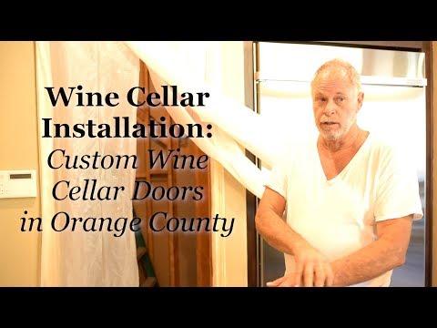 Wine Cellar Installation: Custom Wine Cellar Doors in Orange County